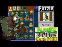 Plants vs. Zombies Me Smash! Puzzle Classic PC HD (Ep