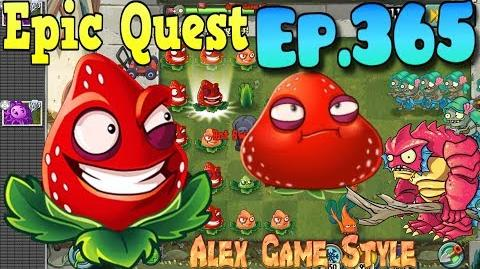 Plants vs. Zombies 2 - STRAWBURST - Epic Quest Premium Seeds (Ep