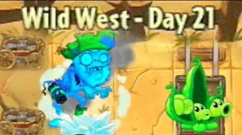 Wild West Day 21 - Plants vs Zombies 2
