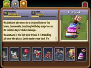 Cake Tank Almanac Entry (Part 1)
