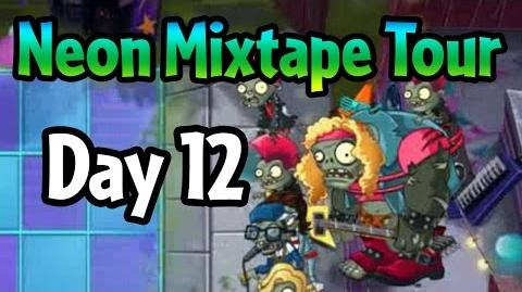 Plants vs Zombies 2 - Neon Mixtape Tour Day 12 (Beta) Hair Metal Gargantuar