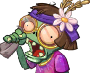 Sneezing Zombie Card Face