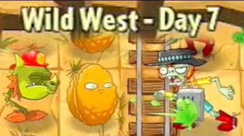 Wild West Day 7 - Plants vs Zombies 2
