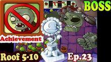 Plants vs. Zombies - Final BOSS - Achievement Home Lawn Security Roof 5-10 (Ep