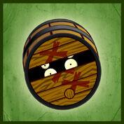 PvZ2 Pirate Barrel