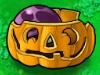 Scaredy-shroom hiding in Pumpkin
