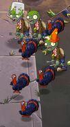 Simple Zombie Turkeys Battlez