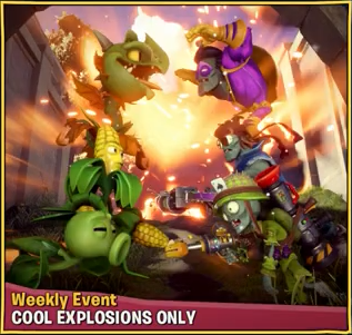 Cool Explosions Only