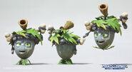 Mirim-lee-acorn-dino model renders