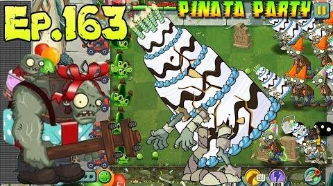Plants vs. Zombies 2 Zombies celebrate the Birthday of the Game - 9th Birthdayz Party (Ep
