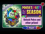 Pokra's Party Season Ad