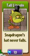 Snapdragon's Top Hat