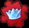 Princess Ice Crown Puzzle Piece