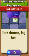 Puff-shroom's Cowboy Hat in Store