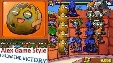 Plants vs. Zombies - Puzzle Last Stand - Roof Achievement Still Standing (Android HD) Ep