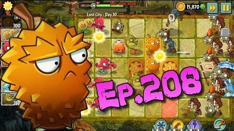 Plants vs. Zombies 2 Got a new Plant Endurian - Lost City Day 10 (Ep