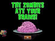 Shrunken Hair Metal Gargantuar eating brains