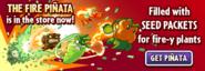 The Fire Piñata Main Menu