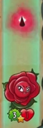 Briar Rose destroying a zombie here that damaged a Flower
