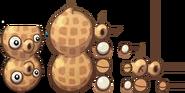 Pea-nut PvZH Sprites