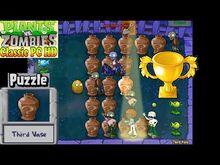 Plants vs. Zombies - Third Vase Puzzle - Classic PC HD (Ep