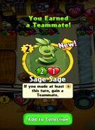 Receiving Sage Sage