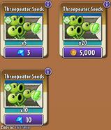Three Threepeater Seeds