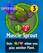 Receiving Muscle Sprout