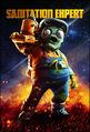 Sanitation Expert Legends of the Lawn DLC Promotional Art