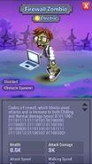 Firewall Zombie Almanac