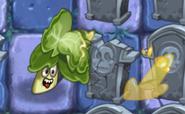 Headbutter Lettuce Attacking