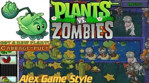 Plants vs. Zombies Adventure Got a Cabbage-Pult level 4-10 Fog (Android Gameplay HD) Ep