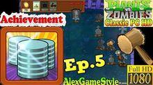 Plants vs. Zombies - Achievement Penny Pincher - Classic PC HD (Ep