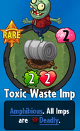 Receiving Toxic Waste Imp
