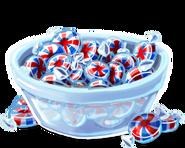 Bowl of mints
