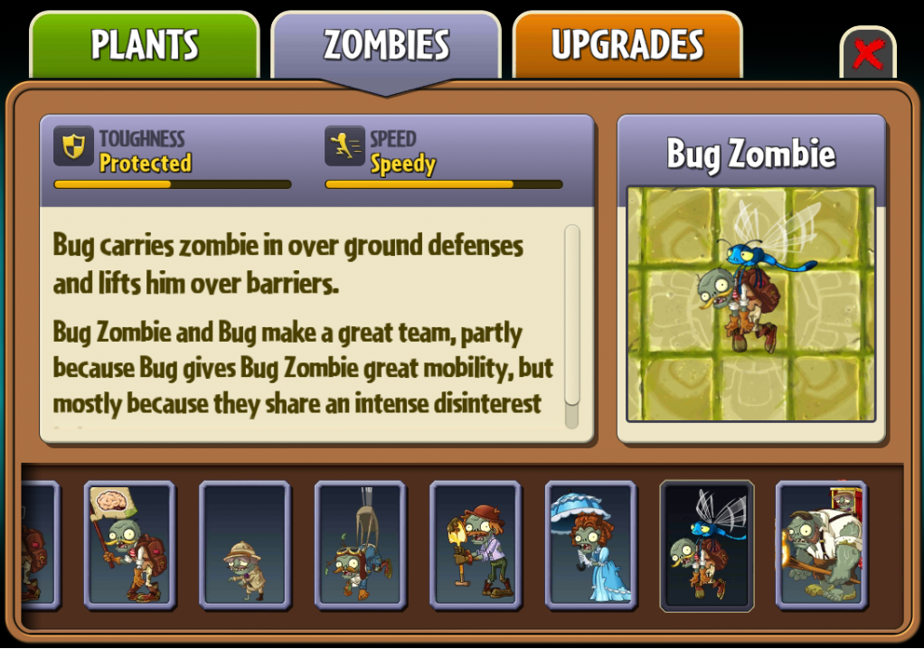 Bug Zombie/Gallery