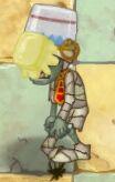 Buttered Buckethead Mummy