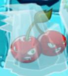 Cheery Bomb in the Ice