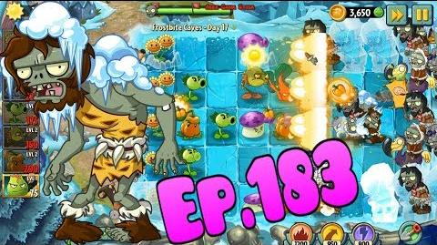 Plants vs. Zombies 2 New Troglobite Zombie - Frostbite Caves Day 17 (Ep