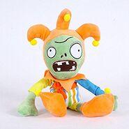 Jester zombie plush