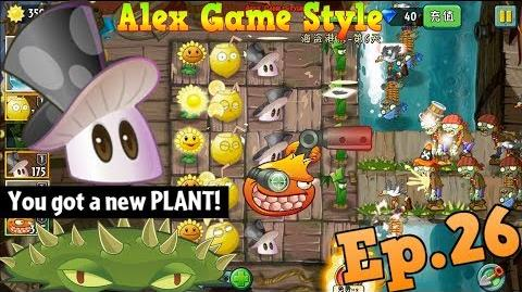 Plants vs. Zombies 2 (Chinese version) Got a New Plant Spikeweed Pirate Seas Day 6 (Ep