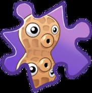 Pea-nut Puzzle Piece
