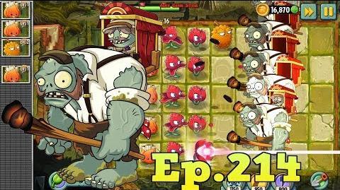 Plants vs. Zombies 2 Massive Attack - Porter Gargantuar - Lost City Day 16 (Ep