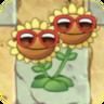 Twin Sunflower Costume3