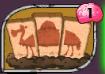 Camel Crossing Card