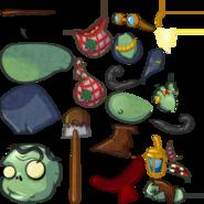 Grave Robber Zombie textures