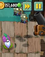 Imp Cannon Detonating