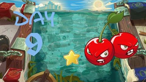 PvZ All Stars - Great Wall of China Day 9