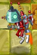 Blastronaut Zombie in Lost City