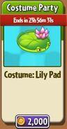 CostumePartyLilyPad